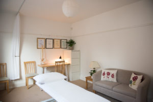 Hove Osteopath Treatment Clinic Room, Aimee Cox Osteopathy
